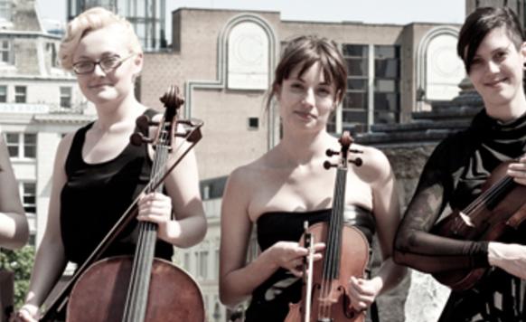 Owl image string quartet nottingham all female