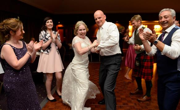 Owl image kirstys wedding with dancing feet ceilidh band 3