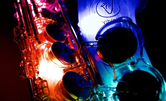 Owl image led bongos   sax 6