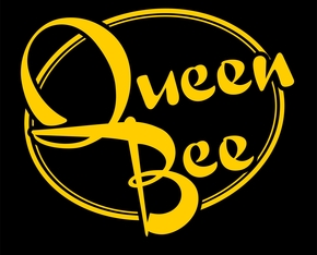 Act card queen bee black and yellow logo