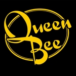 Thumb queen bee black and yellow logo
